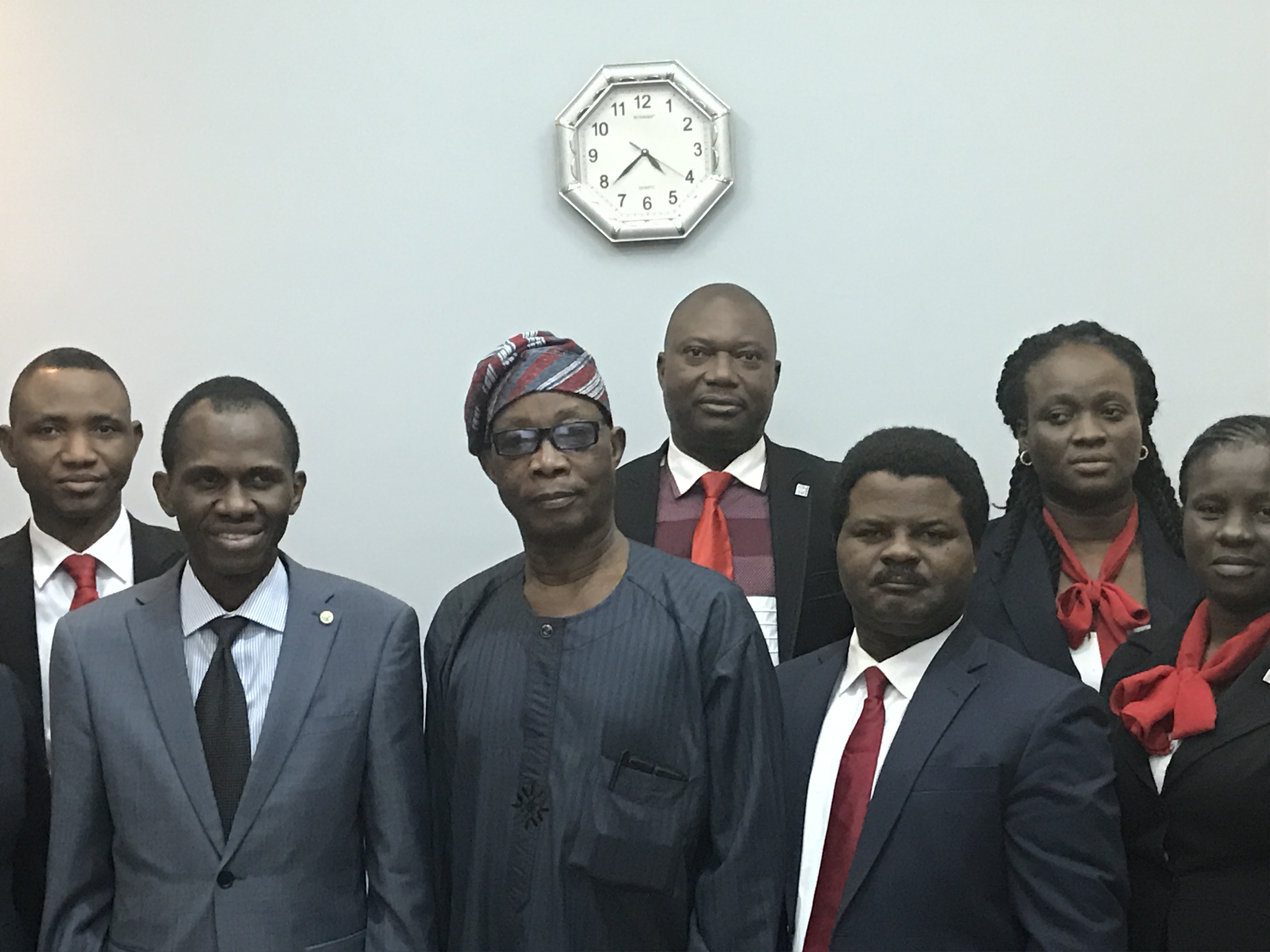 Chairman of Odua Investment Company, Chief Segun Ojo's Visit.
